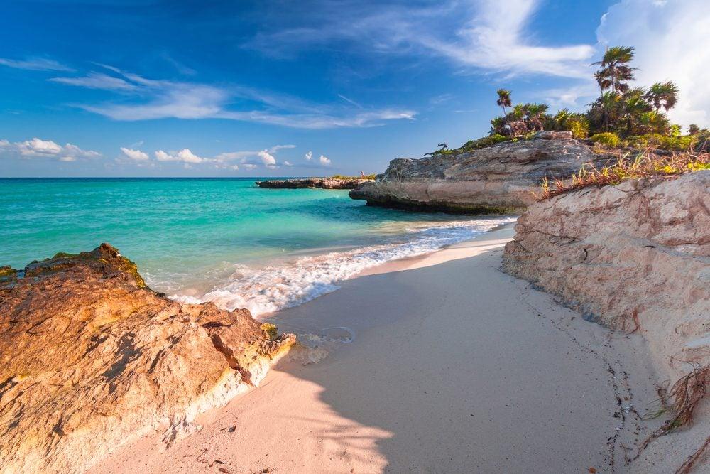 plage caraïbes mexique