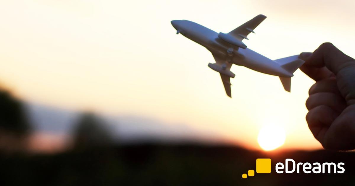 Comparez les billets d'avion et réservez un vol parmi toutes les compagnies aériennes. Partir en voyage pas cher, c'est facile avec eDreams!